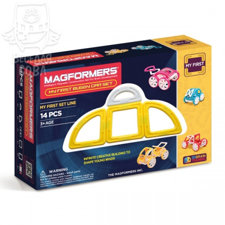 Magformers My First Buggy Желтый 63144/702005