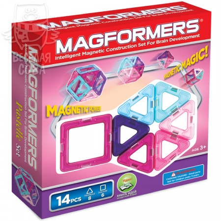 Magformers Pastelle 14 63096/704001