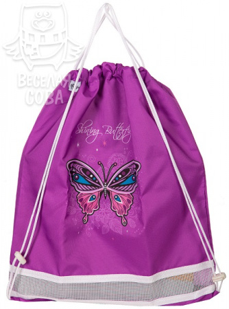 мешок для обуви Hummingbird Shining Butterfly NK2
