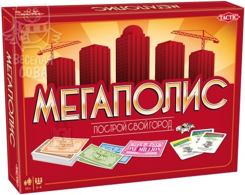 Мегаполис (Metropol) Tactic Games