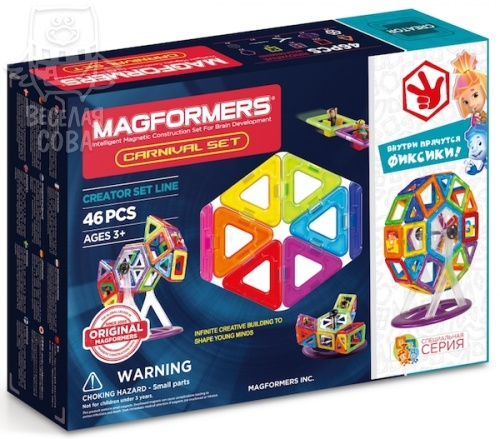 Magformers Carnival Set Набор карнавал 63074/703001